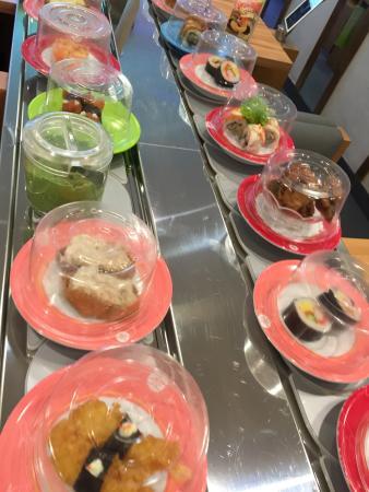 Sakae Sushi: Sushis da esteira