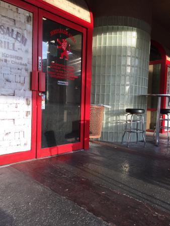 Jerusalem Grill Vegas: Main entrance.