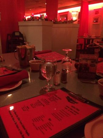 The Red Cadillac..Tacos & Tequilas: Neat decor