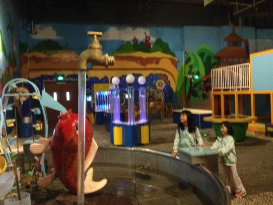 Guangxi Science and Technology Museum: kids zone