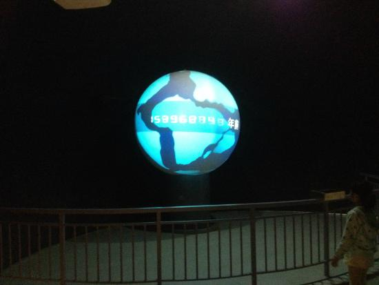 Guangxi Science and Technology Museum: planet
