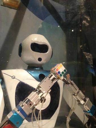 Guangxi Science and Technology Museum: robotic
