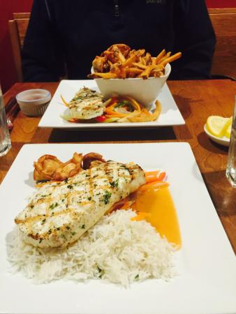 The Lobster Pound And Moore: Grilled Halibut