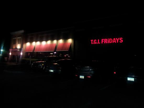 TGI Fridays: view from outside