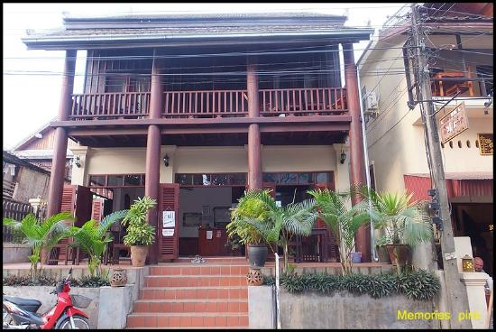 Mekong Moon Inn: ด้านหน้าโรงแรม