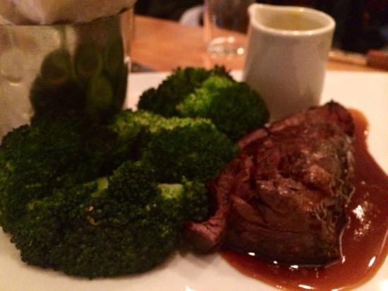 Cafe b: Hanger steak
