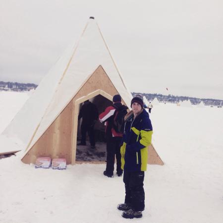Ice Fish Simcoe: Winter fun
