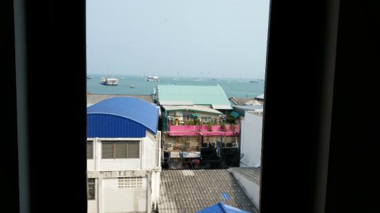 P.72 Hotel: View from room 505