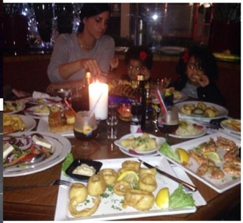 Dafne: Amazing food!