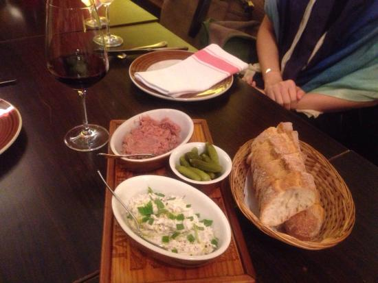 Le Bistrot du Sommelier : Duck and mackerel rillettes.