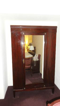 Write Inn: Closet in the Bedroom (sorry for no pic for the bedroom itself)