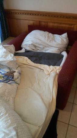 Gästehaus Buchenhof: Das Bett