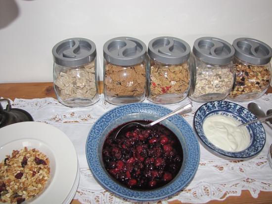 Fingle Bed and Breakfast: Breakfast at Fingle