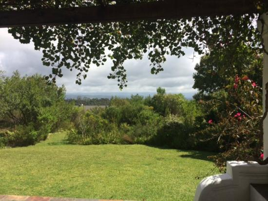 Fynbos Ridge Country House & Cottages: Our view