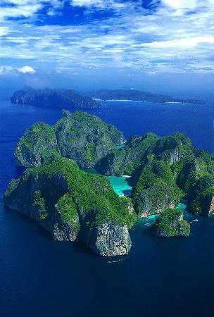 Ko Phi Phi Le: вид с верху(не мой снимок)