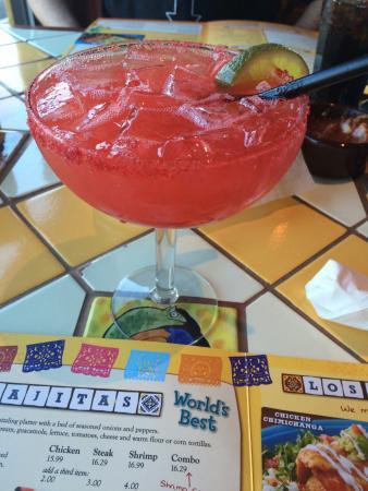 Tio Juan's Margaritas Mexican: Strawberry margarita