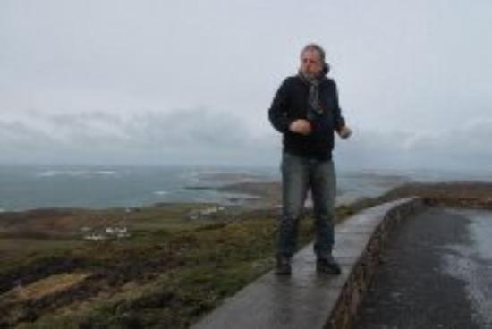 Road above Clifden Bay Lodge
