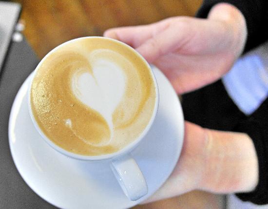 Espressobar - Akrap Finest Coffee: Great cappouccino with soymilk