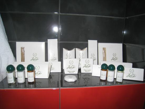 Hotel Zaleski: ванная