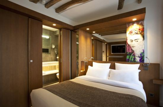 Select Hotel: chambre deluxe