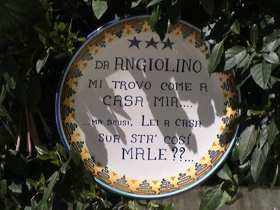 Albergo Angiolino: Hall