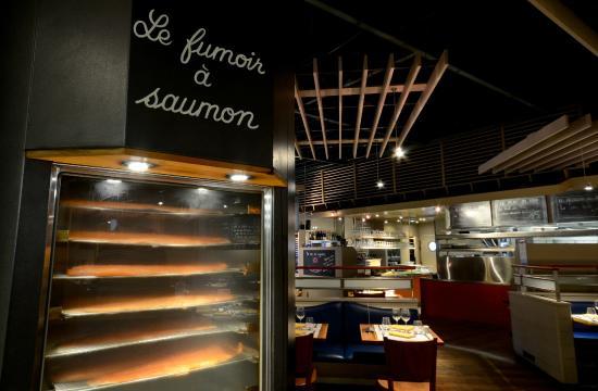 Amarine Villeneuve d'Ascq : Le fumoir à saumon
