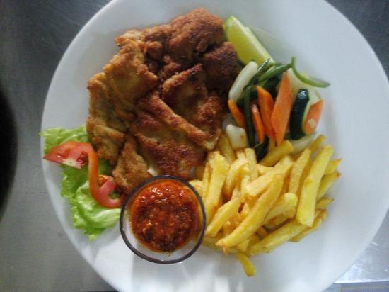 Grand Hotel d'Abidjan: Meal