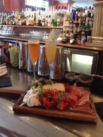 Charlotte Street Hotel : Italian grazing board with bellinis