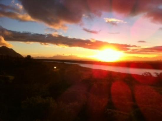 Gordon's Bay, แอฟริกาใต้: at sundown