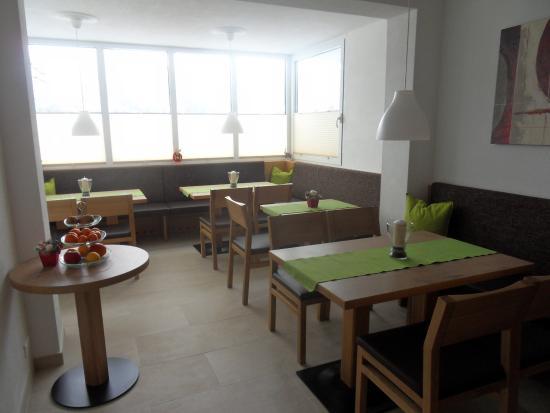 Haus Erhart : Frühstücksraum