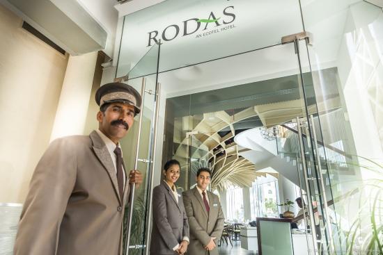 Rodas An Ecotel Hotel: Reception
