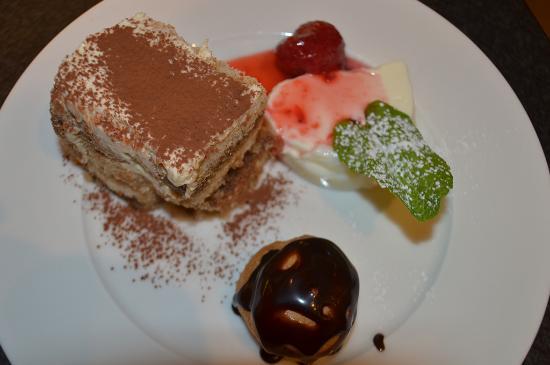 Trattoria La Stella: Dessertvariation