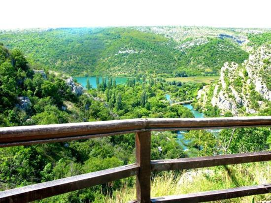 Skradin, Κροατία: the view