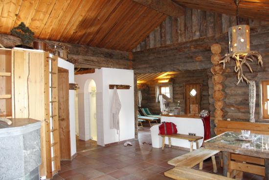 Sonnenbichl Hotel am Rotfischbach: Saunabereich