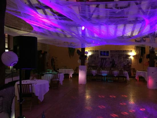 Les Rives du Plantie: Halloween 2014 dans la salle de réception