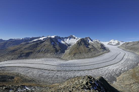 Bettmeralp, Switzerland: Aletsch Arena - Sommer - Aletschgletscher - Befreiend