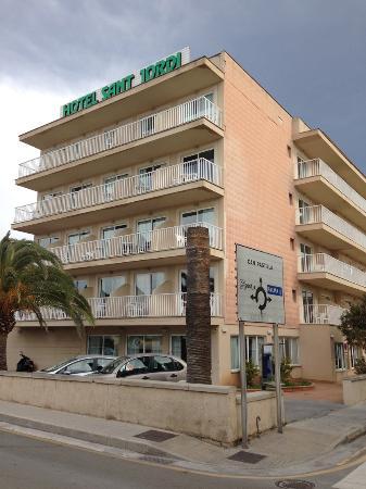 Hotel Sant Jordi: esterno