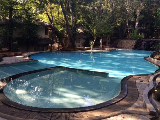Bungallows At The Pool Area Picture Of Deer Park Hotel Polonnaruwa Tripadvisor