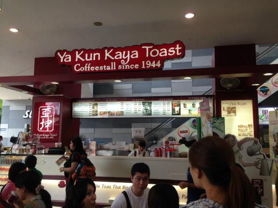 ya kun kaya toast See 448 photos and 41 tips from 2562 visitors to ya kun kaya toast 亞坤 this is the original ya kun, with the rest of branches around the island being.