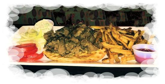 GreekTown Grille: Gyro Platter
