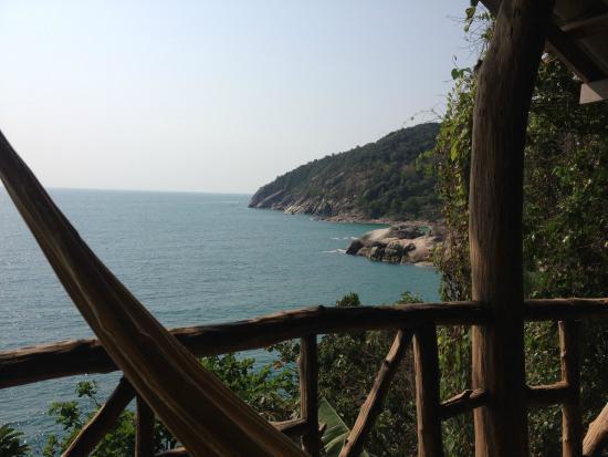 Plaa's Thansadet Resort: View from the balcony