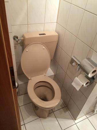Hotel Pfaffenmühle: zu enges WC für normale Leute