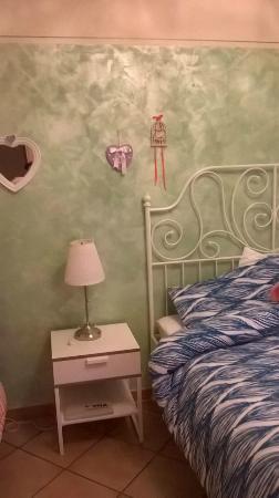 Casabelle: particolare della camera da letto