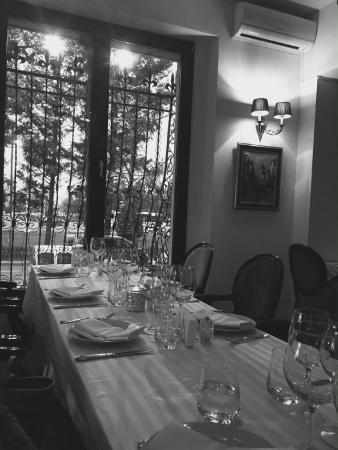 Villa Romana Ristorante : Zabaione, waiting to order