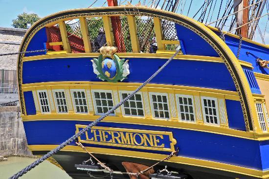 Hotel La Fayette : A 100 M de l'Hermione