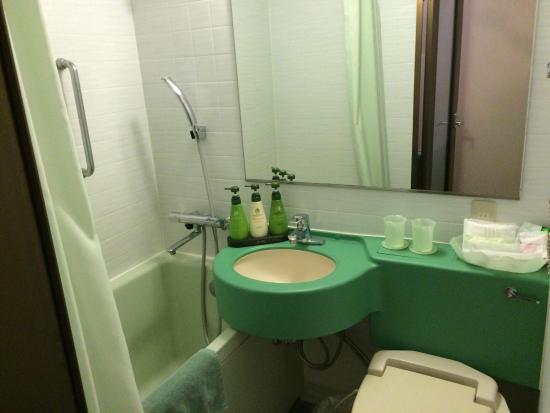 Hotel Sherwood : Badezimmer