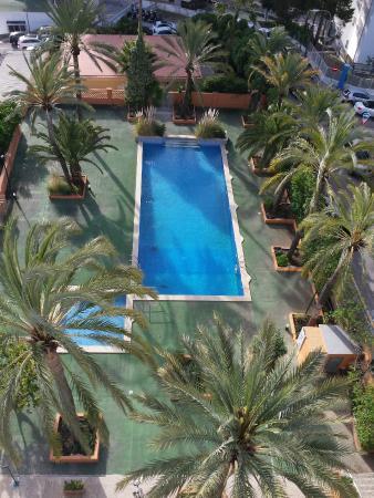 Hotel Mirablau: Desde la habitacion