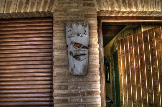 Rincon del Cierzo: Teja decorada