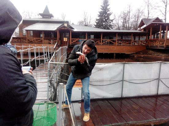 Russkaya Rybalka: Recien pescado