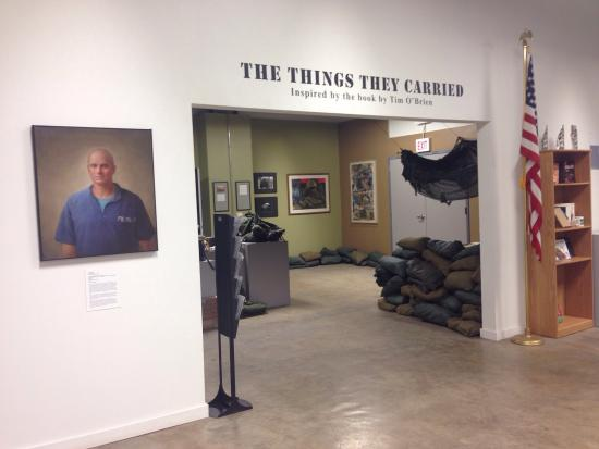 National Veterans Art Museum: The Things They Carried exhibit